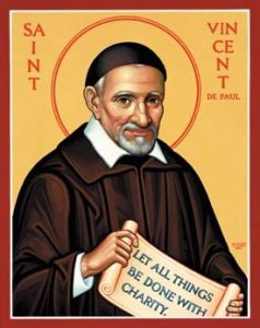 St. Vincent Depaul Stamp